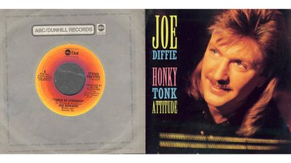 """""""Tower of Strength"""" by Sue Richards, and """"Honky Tonk Attitude"""" by Joe Diffie"""