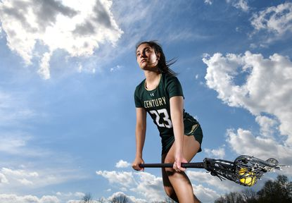 Century High School senior Demma Hall, the state's top-ranked public school girls lacrosse midfielder and No. 3 in the nation for the Class of 2021, is headed to University of Maryland for lacrosse next year.