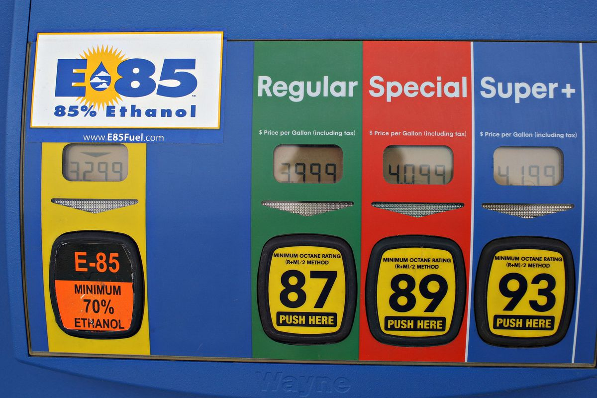 E85 Gas Stations >> First E85 Ethanol Gas Station Opens In Baltimore Baltimore Sun