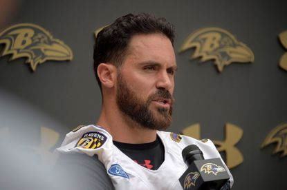 Ravens safety Eric Weddle missed Wednesday's practice because of an unknown illness.