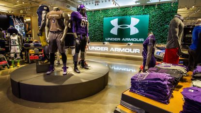 Under Armour's Chicago Brand House is shown in this 2015 file photo.