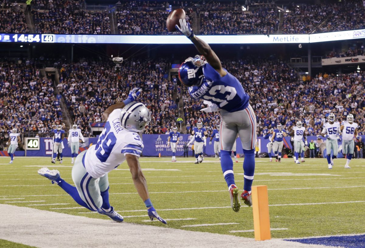 Ravens Cb Brandon Carr Remembers Odell Beckham Jr S Iconic