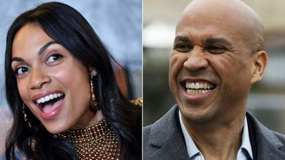 Sen. Cory Booker and Rosario Dawson have Maryland's Ben Jealous to thank for their relationship