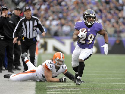 Hoping for new contract from Ravens, Justin Forsett aiming for bigger season this year