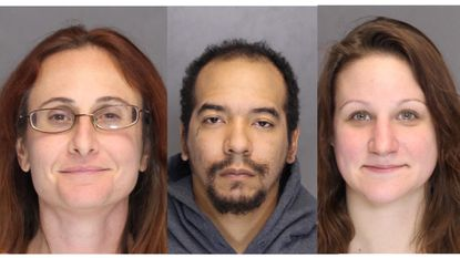 AttorneyDiana Beth Denrich,David Monroe Winder andPaula Papanikos have been charged in connection with an armed robbery ofan Owings Mills frozen yogurt shop in September.
