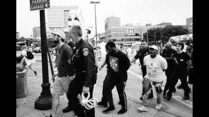 Activists file class action lawsuit against Baltimore Police for actions during last year's #AFROMATION protest