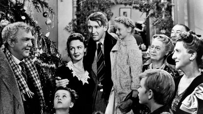 """Scene from the 1946 movie, """"It's a Wonderful Life."""""""