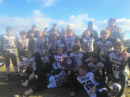 The Sykesville Raiders U-11 team recently won a Carroll County Youth Football League United Division title, and a Super Bowl crown.