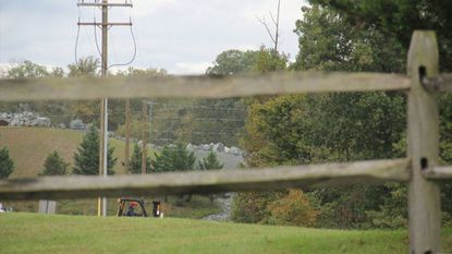Property along Mission Road in Jessup is one of two sites under consideration for a new high school.