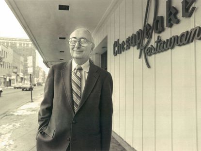 Philip Friedman's Chesapeake was one of the most popular restaurants in Baltimore.