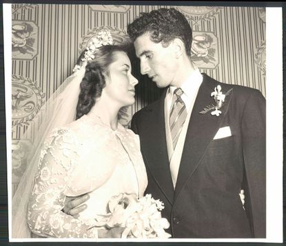 Thomas D'Alesandro III and his wife, Margaret D'Alesandro, photo dated June 12, 1952.