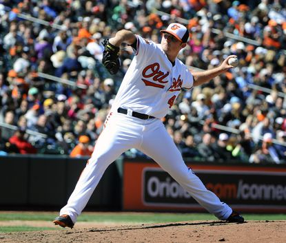 Zach Britton tosses three more shutout innings in Orioles' 3-0 win Wednesday