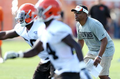 New coordinator Ray Horton brings an aggressiveness to the Cleveland Browns' defense.