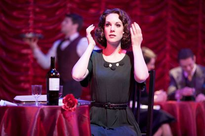 """Analisa Leaming stars as Amalia Balash in the Infinity Theatre production of """"She Loves Me,"""" continuing through Aug. 4."""