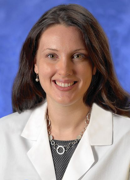 Dr. Amber L. Taylor, director of the Diabetes Center at Mercy Medical Center.