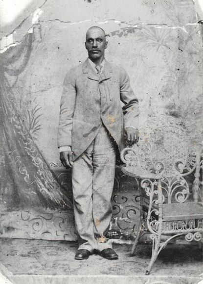 Israel Crump Sr., who lived in South Laurel, served with the U.S. Colored Troops in the Civil War.