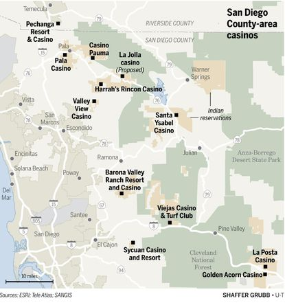 Map of casinos in san diego area game genie codes genesis sonic 2