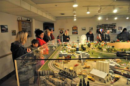 The 37th annual Christmas in the Valley Craft Show and Train Garden Exhibit opens Saturday, Nov. 9, at the Pleasant Valley Community Fire Company. Last year's train garden is pictured.