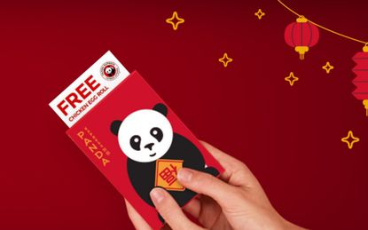 Chinese New Year: Free egg roll and Dr Pepper at Panda Express on Tuesday