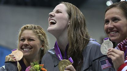 Five-time Olympic gold medalist swimmer Missy Franklin retires