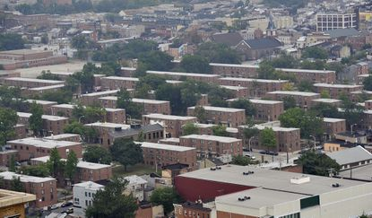 The Perkins Homes housing development in East Baltimore includes 688 units.