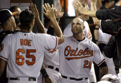 Former Oriole Steve Pearce close to one-year deal with Tampa Bay Rays