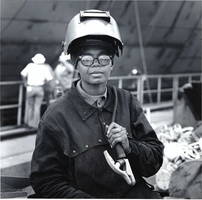 """For the first time ever, the Baltimore Museum of Industry takes an exhibit outside. This one, """"Women of Steel,"""" uplifts stories of women who worked at the Bethlehem Steel plant in Sparrows Point over the last near-century. Come and learn more about the women, including many who worked in the face of sexism, harassment and other challenges. Starts Oct. 12, along Baltimore Museum of Industry fence, 1415 Key Hwy., free, thebmi.org."""