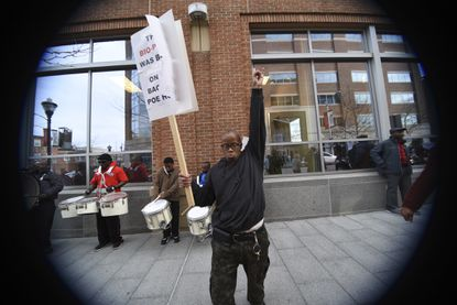 No Trivia: Residents, activists, and Joshua Harris bang the drum for Poe Homes