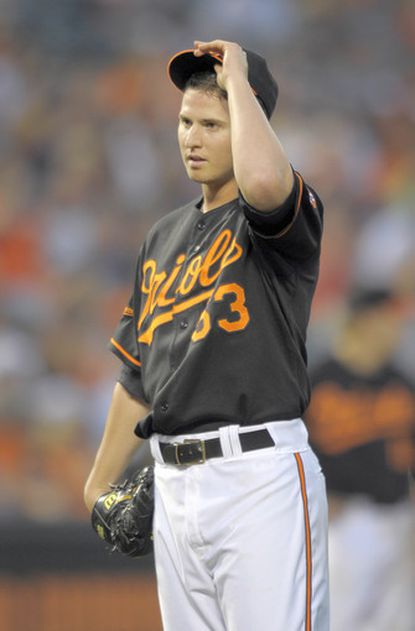 Orioles starter Zach Britton allowed five earned runs and walked three against the Blue Jays.