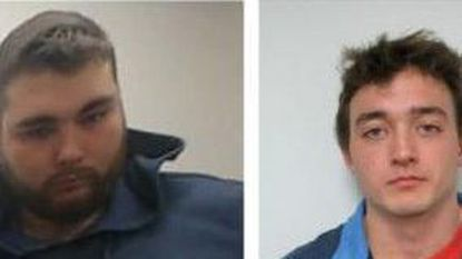 Luke William Charla, 20, pictured left, and Nicholas Michael Stehman, 20, pictured right, are charged with fourth-degree burglary, conspiracy to commit fourth-degree burglary and malicious destruction of property, according to court records.