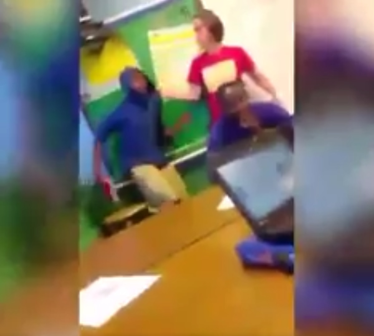 Baltimore teacher caught on video using 'N' word as she berates