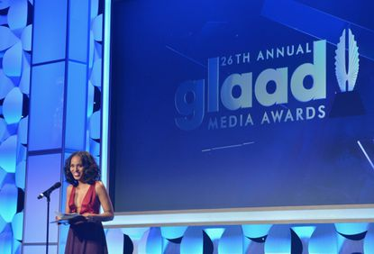 Kerry Washington, Roland Emmerich push for diversity at GLAAD awards