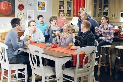 "A scene from ""Modern Family"""