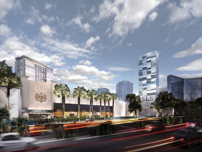Las Vegas Sls Hotel To Debut On The Strip On Labor Day Weekend Baltimore Sun