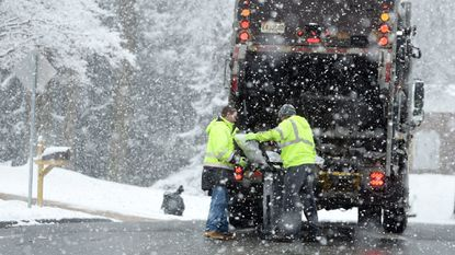 The Bel Air Town Commissioners postponed a vote Monday night that would put restrictions on trash pickup throughout the town during the overnight hours.