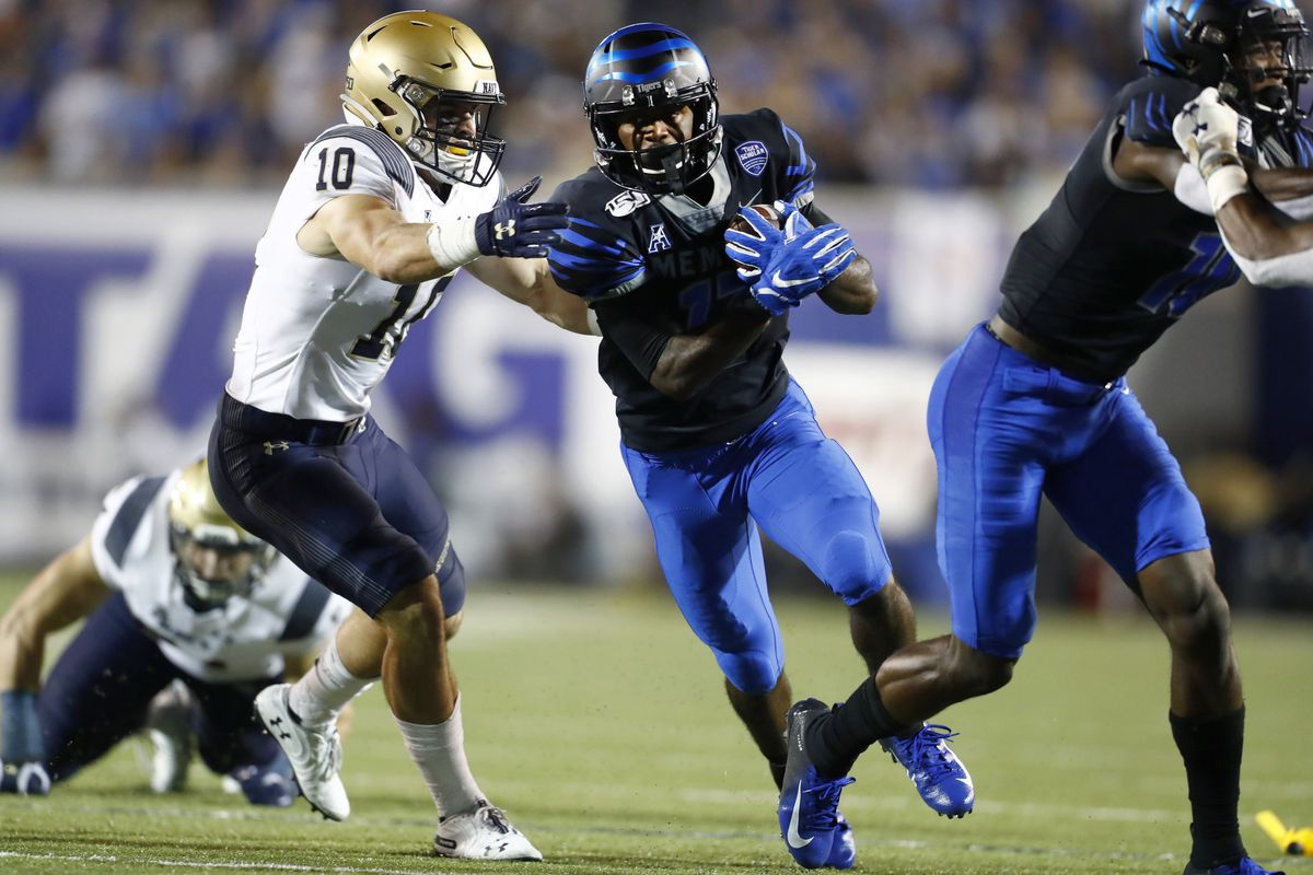 For second time, Navy football gears up to face Memphis in key American Athletic Conference contest