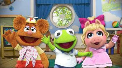 """Fozzie Bear, Kermit and Miss Piggy are back in a new """"Muppet Babies."""""""