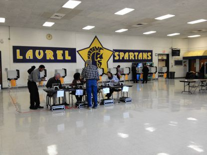 Voters in Laurel say they crossed party lines