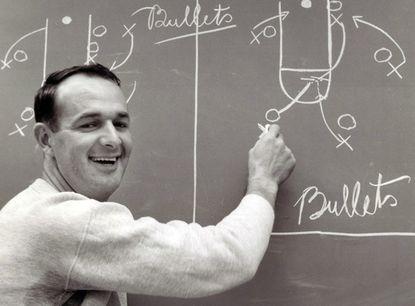 "Bob ""Slick"" Leonard honed his skills as the Bullets' coach in 1963-64."