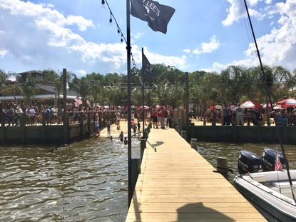 Chaotic scene at Tiki Lee's Dock Bar in Sparrows Point leaves three injured, Baltimore County police say