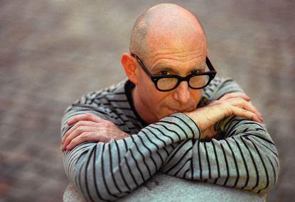 Baltimore filmmaker Michael H. Shamberg, photographed in Mt. Vernon in 1999.
