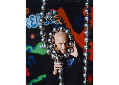 """John Waters, part of Nike's ad campaign for its """"No Cover"""" collection. (Photo courtesy Nike)"""