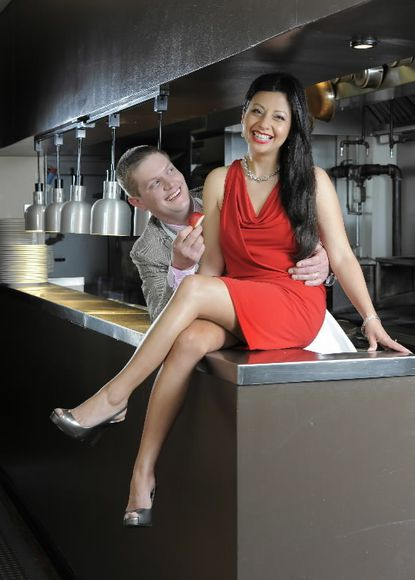 Kevin Perry and Cecilia Benalcazar are the owners of Liv2Eat in South Baltimore.