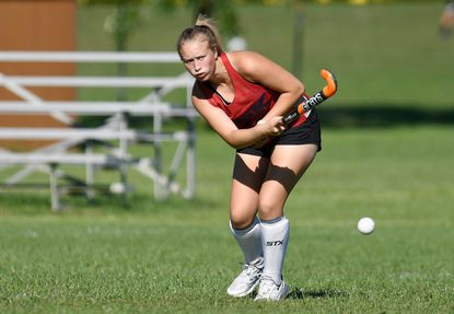 Brooke Boyer and the FSK field hockey team earned a 2-1 victory over Manchester Valley on Oct. 4, 2021.