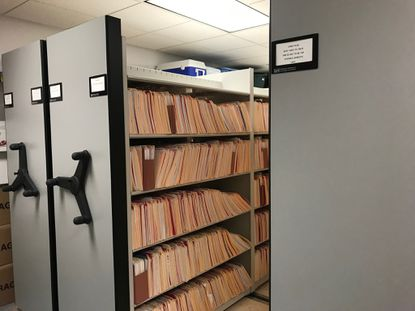 The update to the Records Room of the Westminster Police Department in June 2019 was one of several modernization projects in the past three years. - Original Credit:
