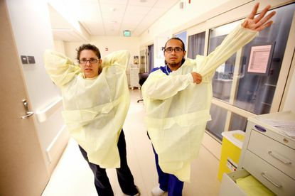 Study reveals why gowns and gloves can be so dangerous for hospital workers