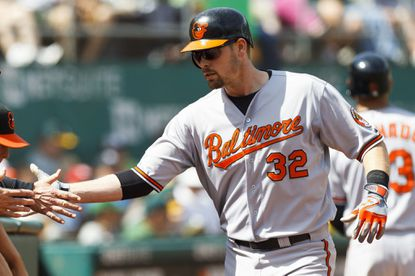 """Orioles catcher Matt Wieters calls Baltimore """"a place where I enjoy playing"""" and says he'd be interested in a long-term extension."""