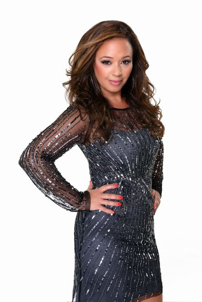 """Leah Remini partners with Tony Dovolani on """"Dancing with the Stars."""""""