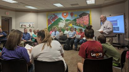 District 2 Town Hall gets residents in round-table discussion about North Carroll's future