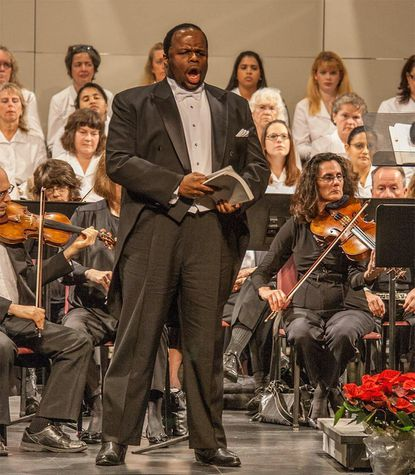 Lester Lynch will perform traditional spirituals on Sunday with Columbia Pro Cantare.